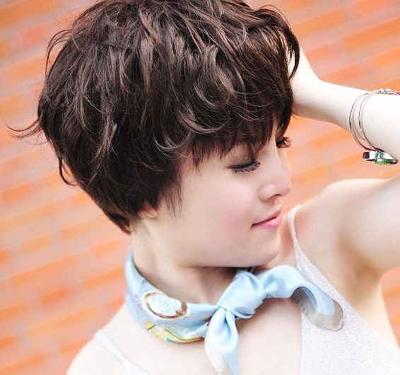 3 new hairstyles for girls with handsome fluffy short curly hair