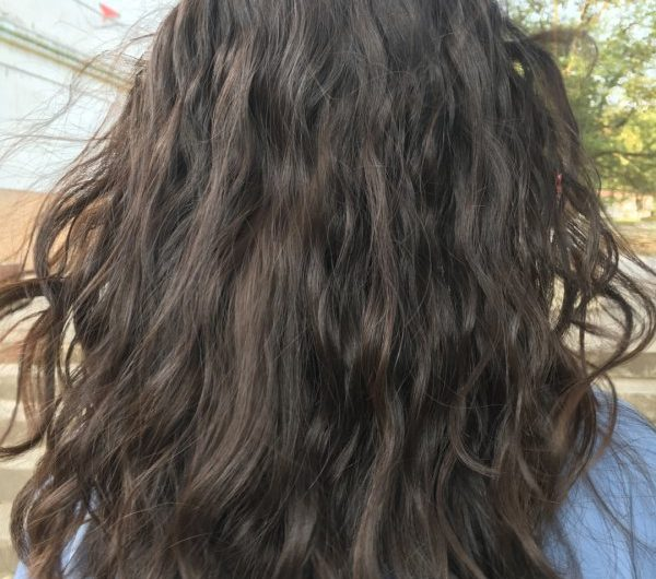 French perm that girls must try in winter, it's so beautiful